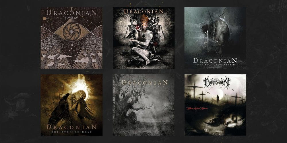 Draconian album collection, CD